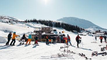 skiutleie, gaustatoppen, sportell, snø, webkamera