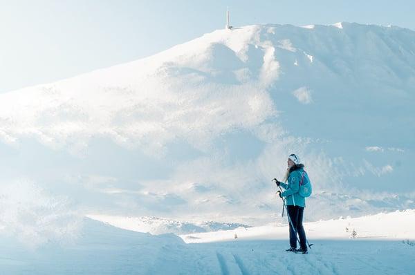 Langrenn, gaustatoppen, gausta, gaustablikk, ski, booking, vinter